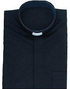 Camisa Clerical Manga Curta
