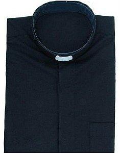 Camisa Clerical Manga Longa