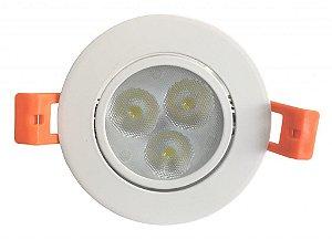 DOWNLIGHT LED 5W BQ (REDONDO)