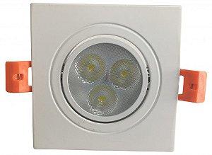 DOWNLIGHT LED 5W BQ (QUADRADA)