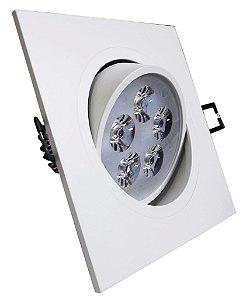 DOWNLIGHT LED 5W BR/BF(QUADRADO)