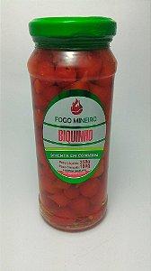 Pimenta Biquinho Vermelha Conserva 350 Grs.