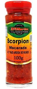 Pimenta Trinidad Scorpion macerada 100 gramas