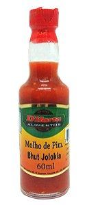 Molho de pimenta Bhut Jolokia 60 ml