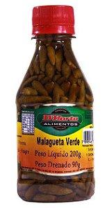 Pimenta Malagueta verde em conserva 200 gramas