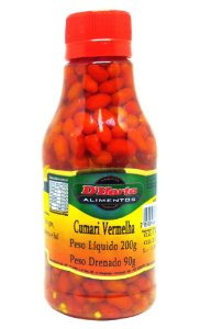 Pimenta Cumari Vermelha conserva 200 gr