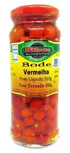 Pimenta Bode Vermelha em conserva 310 gramas