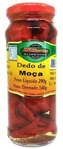 Pimenta Dedo de Moça em conserva 290 gramas
