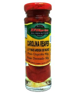 Pimenta Carolina Reaper em conserva 90 gr