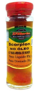Pimenta trinidad Scorpion no Óleo 85 gramas