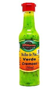 Molho de Pimenta Verde cremoso 150 ml