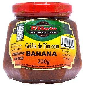 Geleia de Pimenta com Banana 200 gramas