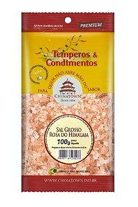 Sal Grosso Rosa do Himalaia 100 gramas