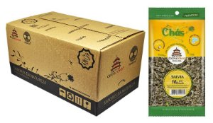 Salvia 10 gramas - 16 unidades na caixa display
