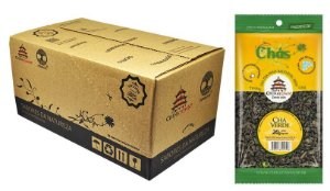Chá Verde 20 gramas - 16 unidades na caixa display