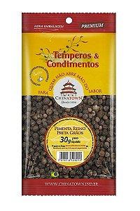 Pimenta Reino Preta Grão 30 gramas