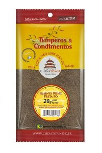 Pimenta Reino Preta Pó 20 gramas