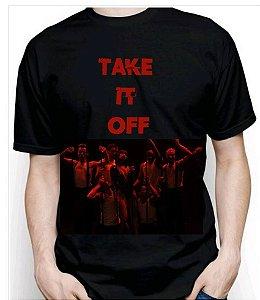 Camiseta Red Take It Off