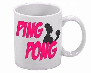 Caneca Ping Pong Pink
