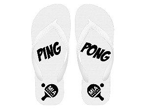 Chinelos Ping Pong