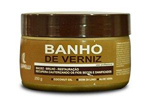Máscara Banho de verniz Capelli 250gr
