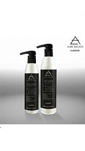 Kit  Aline Riscado  - Shampoo e Máscara