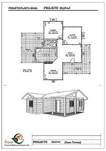 CASA TÉRREA 99,67 m²