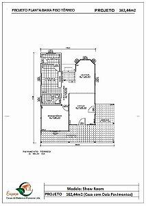 SOBRADO 162,44m²