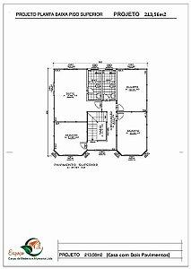 SOBRADO 213,56m²