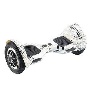 Hoverboard Skate Elétrico Smart Balance Wheel 10 Polegadas Bluetooth - Jornal