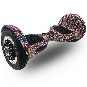 Hoverboard Skate Elétrico Smart Balance Wheel 10 Polegadas Bluetooth - Aguia