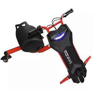 Triciclo Elétrico Cool Drifting Sport com LED - Vermelho