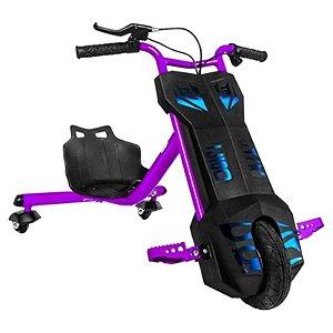 Triciclo Elétrico Cool Drifting Sport - Roxo