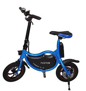 Bicicleta Elétrica 350W - Azul