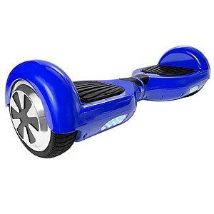 Hoverboard Skate Elétrico Smart Balance Wheel 6,5 Polegadas Sem Bluetooth - Azul