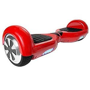 Hoverboard Skate Elétrico Smart Balance Wheel 6,5 Polegadas - Vermelho