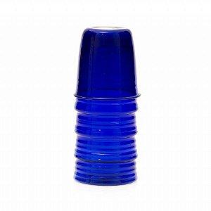 Moringa azul copos