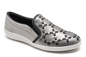 Slip On Marina Mello - Lumina Onix | Trêsse