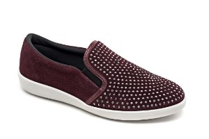A13004 - Slip On Marina Mello - Vinho | Hot Fix