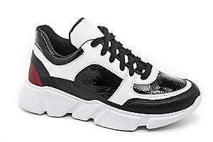 C20001 - Chunky Sneaker Verniz Preto