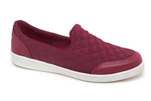 Slip On Marina Mello -  Lycra Rouge | Matelace