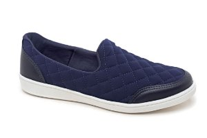 C12049 - Slip On Marina Mello - Lycra Dark Blue | Matelace