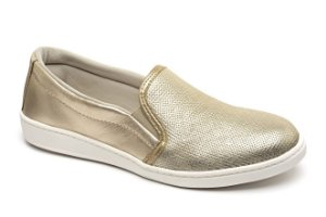 Slip On Marina Mello - Cobra Ouro | Lumina Ouro