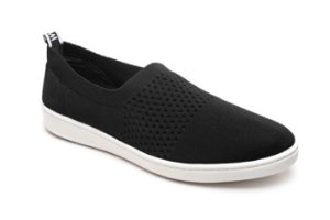 C12107 - Slip On Marina Mello - Tricot Preto