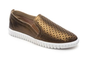 C24002 - Slip On Marina Mello - Kraft Bronze| Laser Lotus