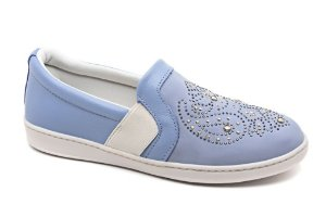 Slip On Marina Mello - Light Blue