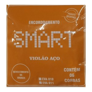 Encordoamento Smart Violao Aco 011