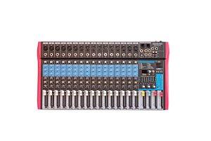 Mesa de Som Soundvoice 16 Canais Efeitos/Equalizador MS162 EUX