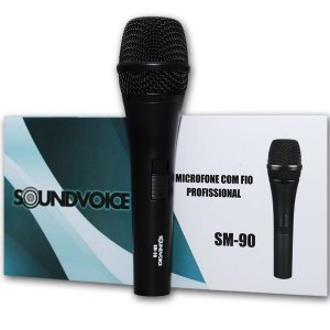 Microfone Com Fio Soundvoice SM90