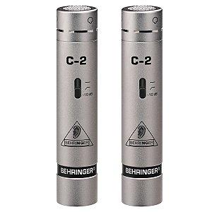 Microfone Behringer Condenser C-2